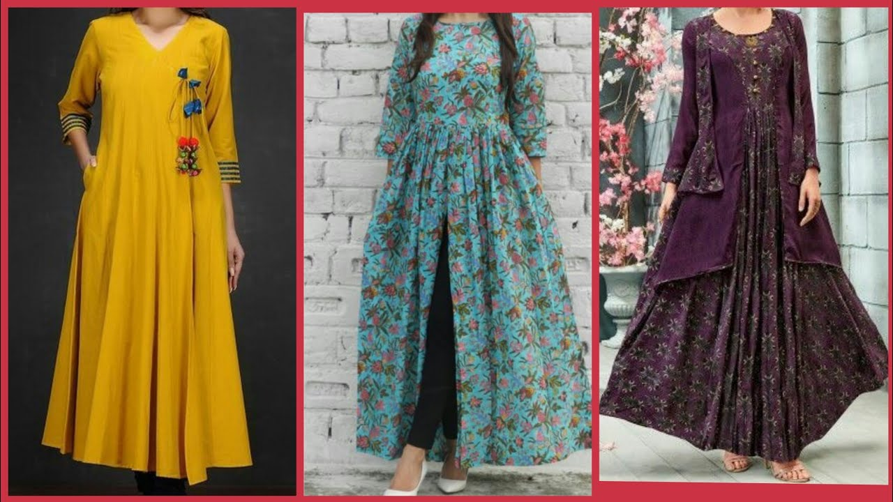 Beautiful Simple Girls Dresses Design Youtube