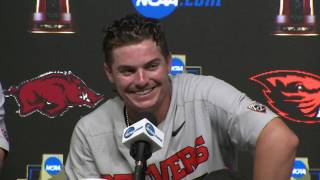 2018 College World Series - CWS Championship Finals Game 2 Press Conference (Oregon State)