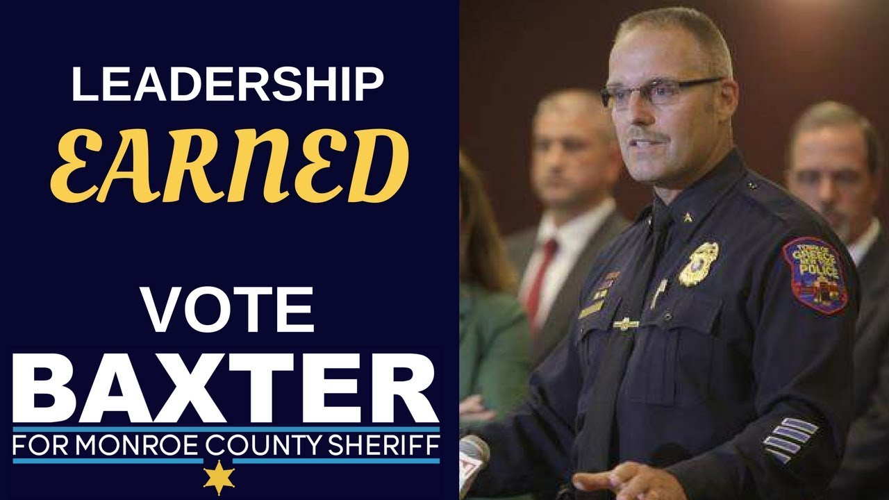 Baxter defeats O'Flynn in race for Monroe County Sheriff