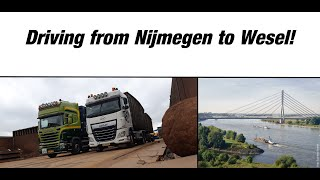 [DAF XF 106] From Nijmegen to Wesel!