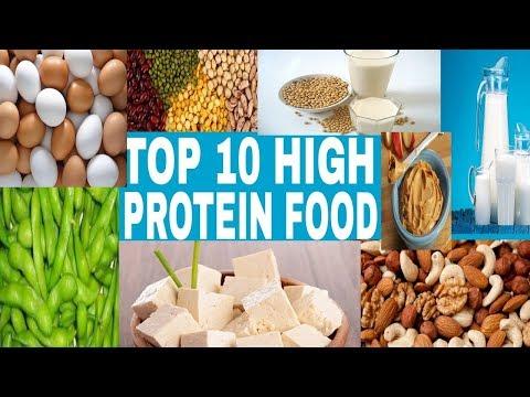 Top ten foods rich in protein 2017-2018 || Top ten foods list with information for begginers
