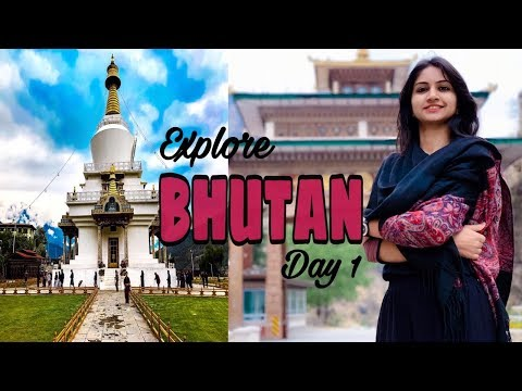 Bhutan trip|vlog 1|Paro airport|HD|Thimphu|local transport