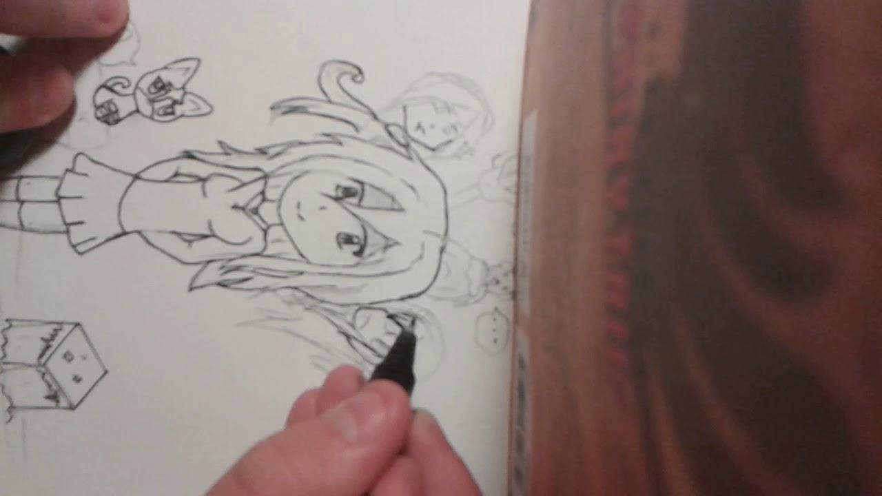 Dessin Fan Art Pour Sora 1 3 Youtube