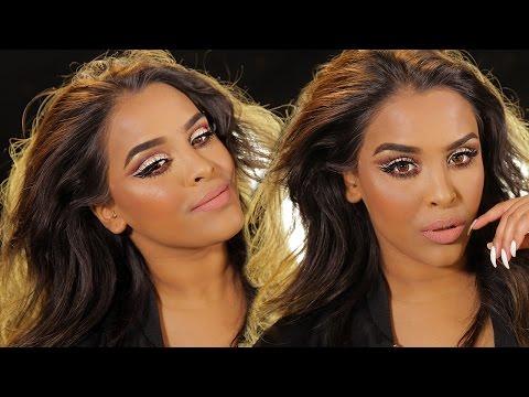 easy-glitter-cut-crease-makeup-tutorial|-n1kk1ssecr3t