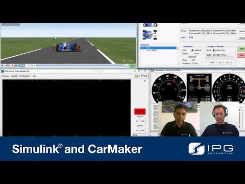 Formula Student: Simulink® and CarMaker