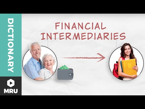 What are Financial Intermediaries? - YouTube