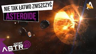 Planetoidy trudniejsze do zniszczenia niż myśleliśmy -  AstroSzort