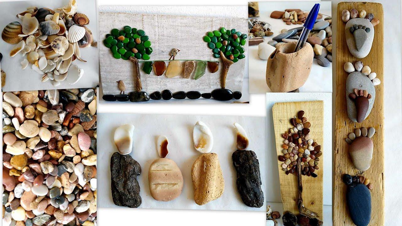 Decoraciones Con Piedras De Mar