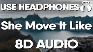 She Move It Like (8D AUDIO) - Badshah | O.N.E Album