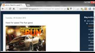 'Need for speed The Run game' download free full resume working links(195mbx25parts)..4.5gb..