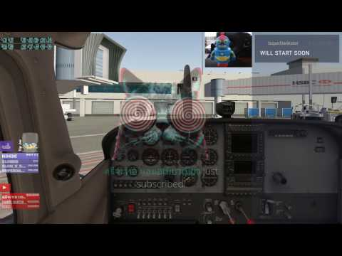 XPLANE 11 - KLAX TO SAN DIEGO REAL TIME + WEATHER + INSTRUCTOR