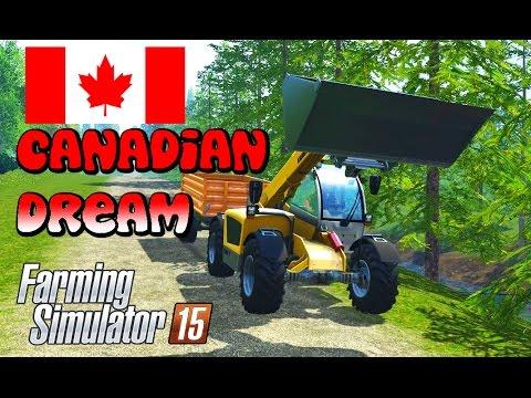 Ontario Canada Map Review Farming Simulator 2015 Gameplay