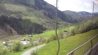 スイス鉄道の車窓から Sumvitg-Cumpadials → Disentis/Mustér