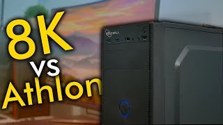 8K Gaming Without a Video Card! - $250 Gaming PC | OzTalksHW
