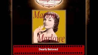 Marion Marlowe – Dearly Beloved