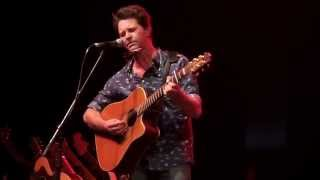 Bernard Fanning & Kasey Chambers live at Byron blues fest 2014
