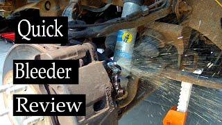 Dorman Quick Bleeder Review