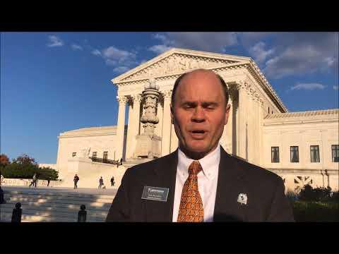 LNC Executive Director Wes Benedict calls for fair debates at SCOTUS rally — Oct. 26, 2017