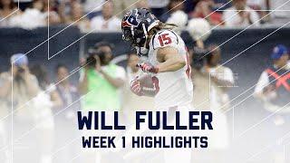 Every Will Fuller Catch | Bears vs. Texans | NFL Week 1 Player Highlights