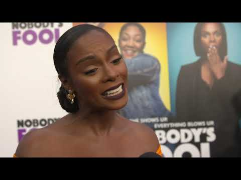 Nobody's Fool NYC Premiere Interview Tika Sumpter