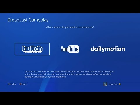 How To Live Stream On Ps4 Twitch You Best Settings
