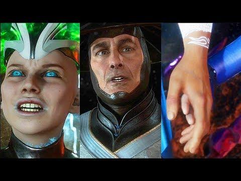 Mortal Kombat 11 All Story Endings (SECRET Ending) MK11 Final Boss