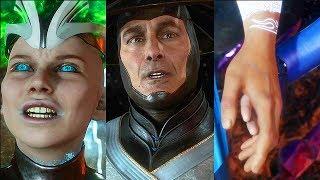 Mortal Kombat 11 SECRET Ending All Story Endings Bad & Good (MK11 Final Boss)