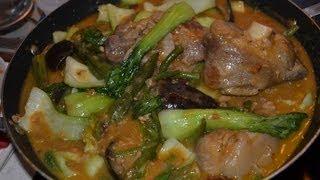 Filipino Food - Pork Kare Kare - Filipino Recipes