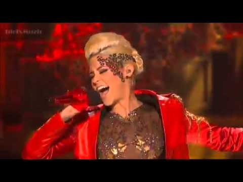 Cece Frey - Eye Of The Tiger - The X Factor USA 2012 (Live Show 2)