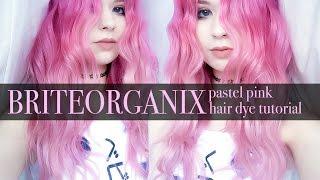 One of Kayla Hadlington's most viewed videos: pink pastel hairdye tutorial | brite organix | ad | kayla hadlington