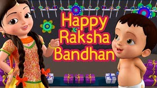 Raksha Bandhan Song (Rakhi) | Hindi Rhymes for Children | Infobells