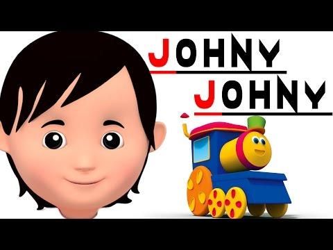 bob il treno   Johny Johny sì papà   filastrocche   Kids Rhyme   Baby Song   Johny Johny Yes Papa