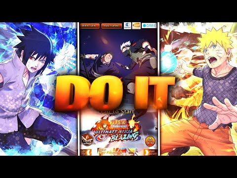MAKE SURE TO DO THIS BEFORE SHUTDOWN 📢 (SAVE YOUR ACCOUNT) Naruto Ultimate Ninja Blazing)