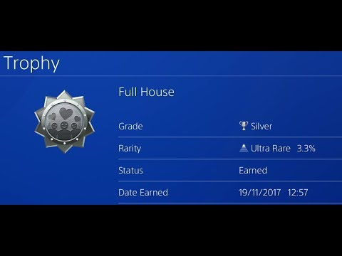 Everybody's Golf (2017) PS4 - Full House Trophy