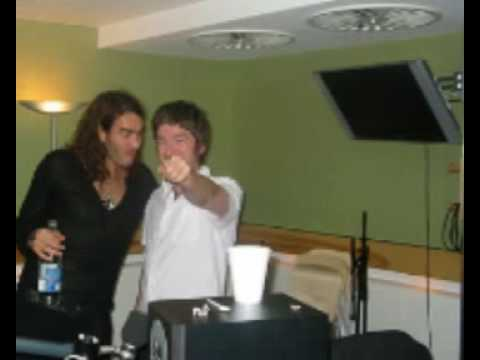 Russell Brand and Noel Gallagher make a phonecall to Barack Obama.