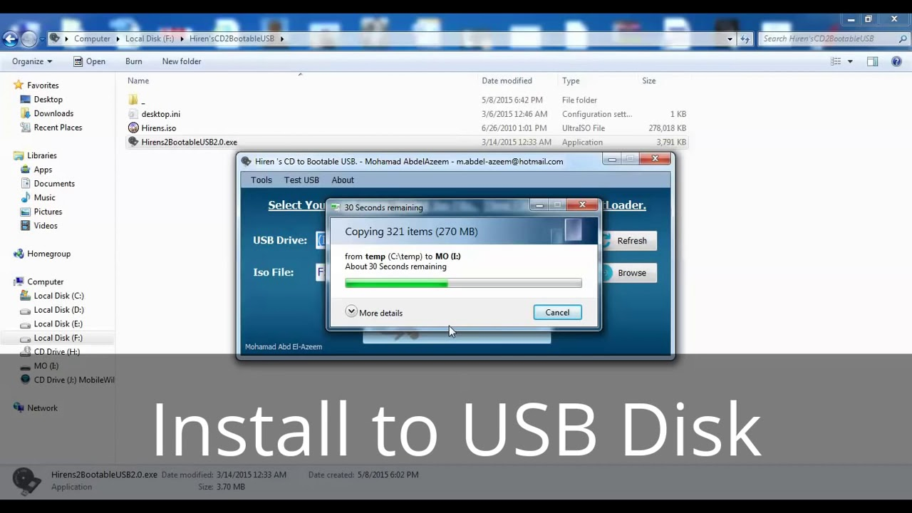 Hiren's CD 2 Bootable USB Latest Version | Know it Now