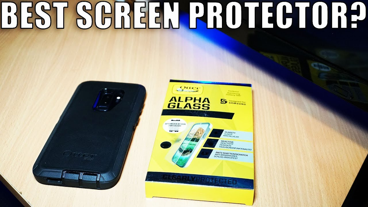 Review and Install- Otterbox Alpha Glass on Galaxy S9 plus