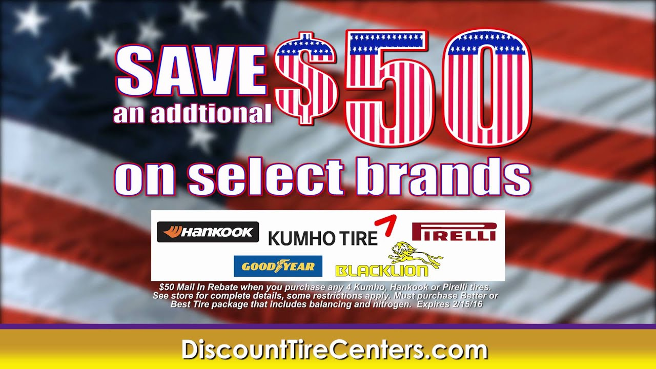 Discount Tire Centers Buy 2 Tires Get 2 Free President S Day Sale