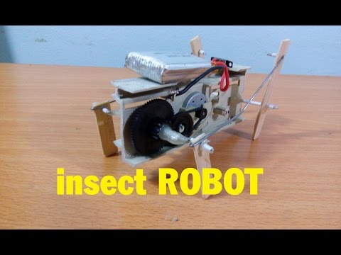 How To Make Robot Insect, 4 Four-legged Robot