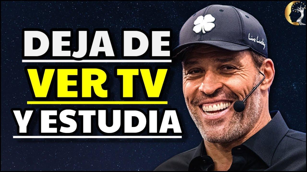 Deja de Ver Televisión y Estudia el Éxito   Tony Robbins en Español   Desarrollo Personal