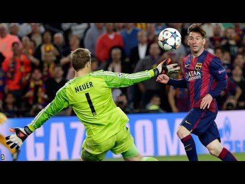 MESSI BARCELLONA-BAYERN MONACO 3-0 Champions League 2015 Amazing Second Goal