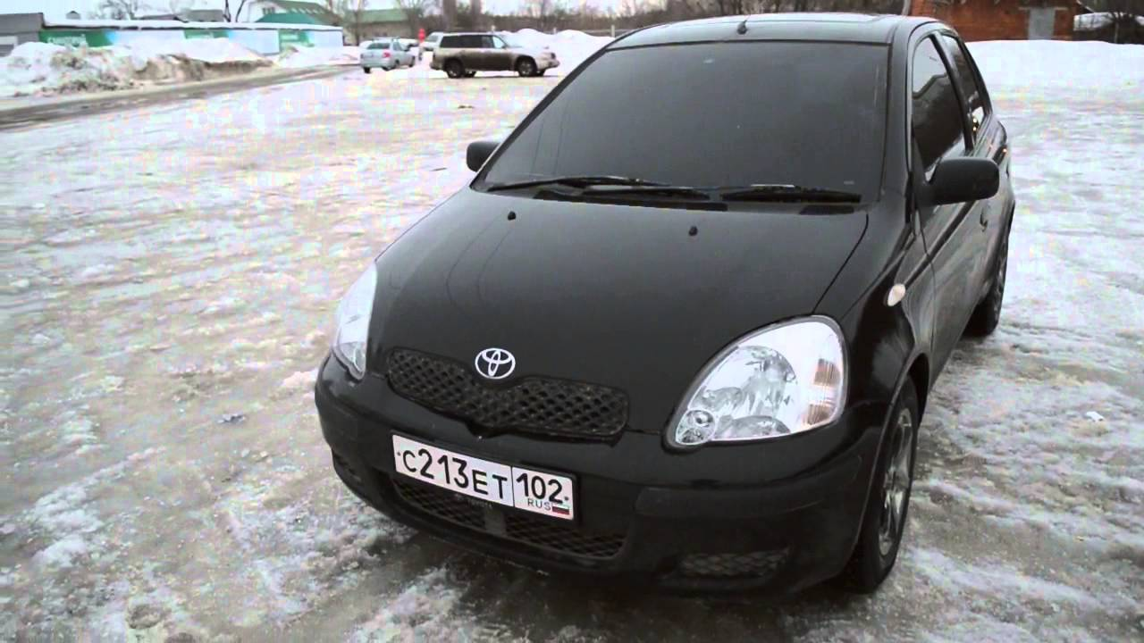 toyota vitz 2000 youtube. Black Bedroom Furniture Sets. Home Design Ideas