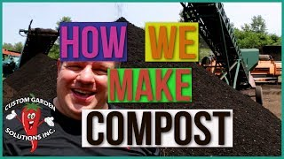 Compost Field Trip - Organic Garden Compost Mix Great For Vegetable Gardens