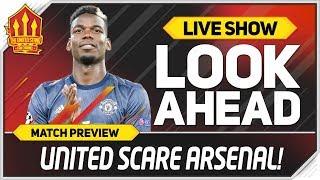 Arsenal vs Manchester United! Solskjaer Terrifies Arsenal! Man Utd News