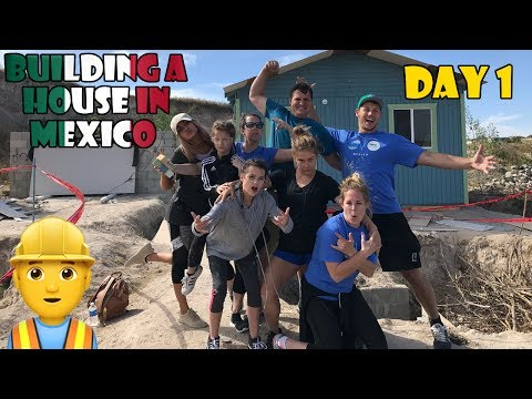 Building a House in Mexico 👷 Day 1 (WK 336.4) | Bratayley