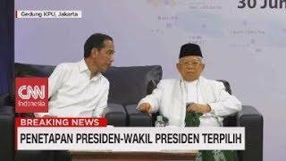 Resmi! Jokowi-Ma'ruf Presiden & Wakil Presiden Terpilih 2019-2024