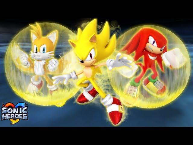 Sonic Heroes (GC) [4K] - Last Story
