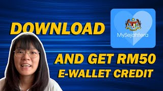 Download The Mysejahtera App And Get Rm50 E-wallet Credit! Icymi #347
