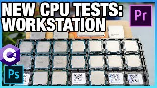 New CPU Methodology: Best CPUs for Programming, Premiere, V-Ray, & More