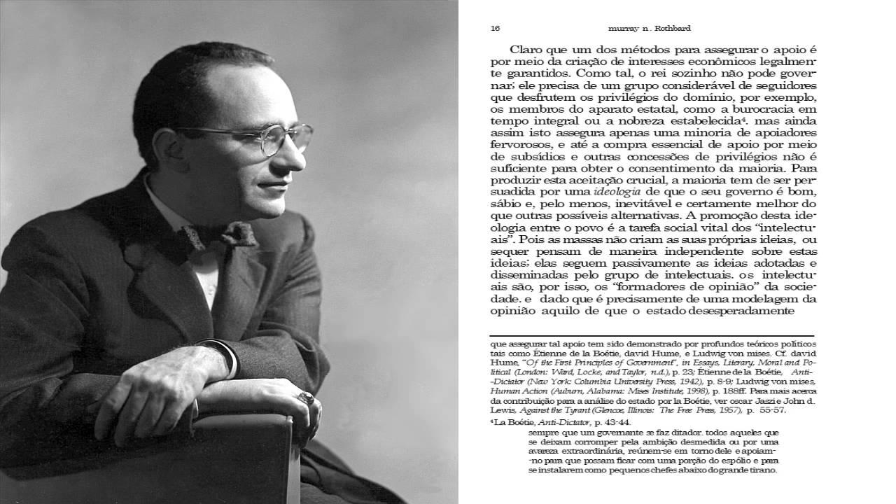 A Anatomia Do Estado De Murray N. Rothbard VIDEOBOOK COMPLETO ...